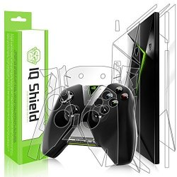 Iq Shield Full Body Skin Compatible With Nvidia Shield Tv Includes Controller Skin 2015 + Liquidskin Clear Full Coverage Screen