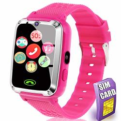 Card Sim Include Smart Watch For Kids - Kids Smart Watch Phone For Boys Girls With Phone Call Camera Games Music Alarm Clock Calendar