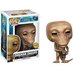 Funko Doghan Daguis Black Bag Chase Edition : Valerian And The City Of A Thousand Planets X Pop Movies Vinyl Figure & 1 Pop Compatible