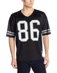 Huf Men's Playoff Football Jersey Black Large