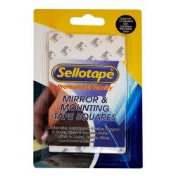 Sellotape - Selloptape Mirror Mounting Strips