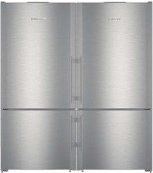Liebherr 60 Side By Side Refrigerator With CS1401RIM 30 Left Hinge And CS1400RIM 30 Right Hinge In Stainless Steel