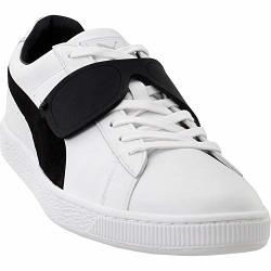 Puma Select Men's X Karl Lagerfeld Suede Classic Sneakers White black 11 M Us