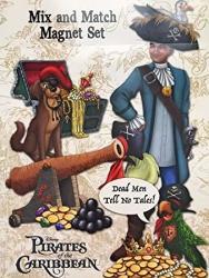 USA Pirates Of The Caribbean Disney Magnet Set 22 Pieces