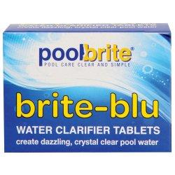 Poolbrite - Brite Blu Water Clarifier Tablets 240G