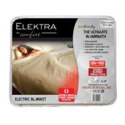 Elektra Acrylic Fur Fitted Electric Blanket Double Bed