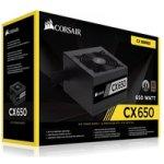 Corsair - CX650 650W 80 Plus Bronze Power Supply Unit