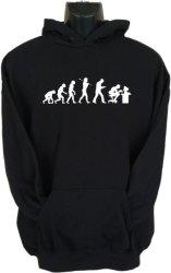 Gamer Evolution Hoodie in Black