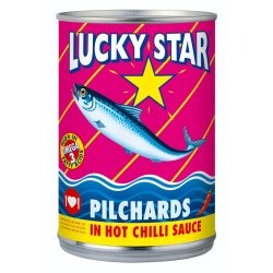 Lucky Star Pilchards In Sauce 400 G