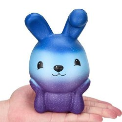 Franterd Cute Easter Bunny Egg Easter Gift - Squishies Cream Scented Slow Rising Simulation Lovely Toy - Squeeze Kids Toy - Decompression Educational Toy
