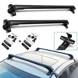 Universal Cars Skidproof Anti Theft Car Roof Bars Without Rails Lockable Rack
