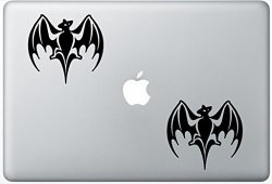 Henry Decal Bacardi Rum Logo ZD1210 Set Of Two 2X Decal Sticker Laptop Ipad Car Truck