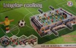 Table Top Football Ooden Toy Set For Boys