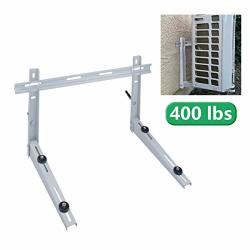 Wall Mount Forestchill Bracket With Cross Bar Fits MINI Split Ductless Outdoor Unit Air Conditioner Condensing Units Heat Pump System Condenser Universal Support Up