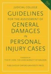 Guidelines For The Assessment Of General Damages In Personal Injury Cases Paperback 15 Revised Edition