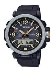 Casio Men's Protrek Japanese-quartz Watch With Resin Strap Black 23.77 Model: PRG-600-1CR