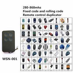 Calvas Universal Wireless Remote Control Garage Door Remote Automatic Gate Openers Accessories - Color: 3 Pieces