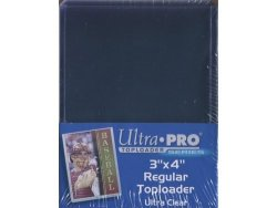 Ultra Pro Card Holders With 100 Ct Bag Of Sleeves Pack Of 4