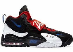 Nike Mens Air Max Speed Turf Black game Royal university Red Leather Cross-trainers Shoes 11.5 M Us