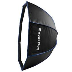 Mountdog Studio Octagon Softbox 32 INCHES 80 Centimeters Octagonal Softbox With Carrying Case 2 Soft Cloth For Flash Speedlite P