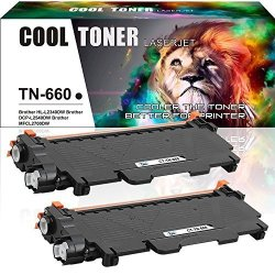 Cool Toner NOT BROTHER OEM Cool Toner 2 Packs TN660 TN630 Toner Compatible For Brother TN-660 Toner Brother Hl L2320D HLL2320D HL-L2380DW HLL2380DW Hl L2380DW HL-L2360DW HLL2360DW Hl L2360DW