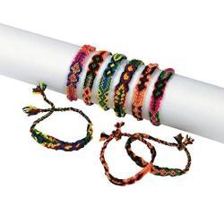 USA Fun Express Woven Friendship Bracelets 1 Dz