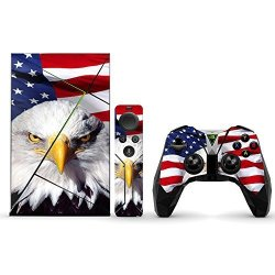 MightySkins Protective Vinyl Skin Decal For Nvidia Shield Tv Wrap Cover Sticker Skins America Strong