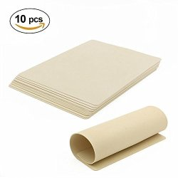BLANK Tattoo Skin Practice - Bochang 10 Sheets 8X6 Double Sides Cheap Tattoo Skin Microblading Practice Skin For Tattoo Supplies