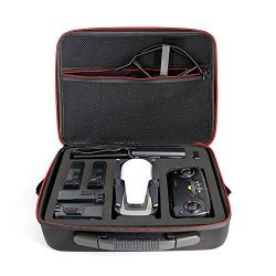 Powerextra Waterproof Carry Case For Dji Mavic Air Fly More Combo Onyx Portable Quadcopter Drone