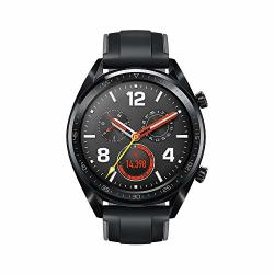 HUAWEI Watch GT Sport 1.39 Amoled Touchscreen Bluetooth Gps Smartwatch Ultra-thin Longer Lasting Battery Life 24 7 Continuous Heart Rate Monitor Indoor And Outdoor Sports 5ATM Waterproof