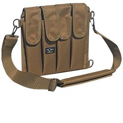 Galati Gear 9MM Shoulder Magazine Pouch - Holds 8 Coyote Brown
