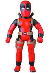 Diamond Comic Distributors Medicom Marvel Retro Deadpool Sofubi Action Figure Classic Version Red
