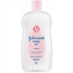 J&J Baby Oil 500ml