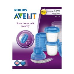 Avent Via Breast Milk Storage