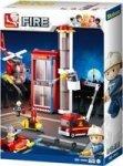 Sluban Fire Substation 425 Pieces