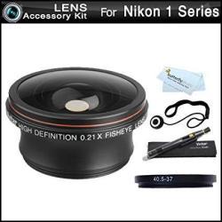 Vivitar Fisheye Lens Kit For Nikon 1 J1 Nikon 1 V1 Nikon 1 J2 Mirrorless  Digital Camera That Use 10-30MM 30-110MM 10 | R1446 00 | Camera Lenses |