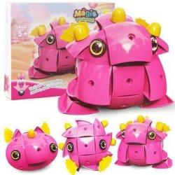 Parcae NS004 90PCS Magnetic Magic Wisdom Ball Black Pink Pig Blocks Various Deformationtoys