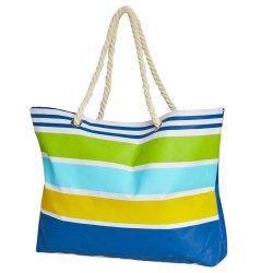 No Brand - Waterproof Beach Bag Multi Stripe