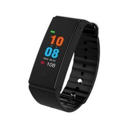 T2 Plus 0.96 Inch Colorful Oled Bluetooth 4.0 Heart Rate Blood Pressure Smart Wris