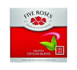 Five Roses Tagless Teabags 1 X 102'S