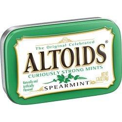 Altoids Spearmint Mints Single Pack 1.76 Ounce