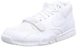 Nike Men S Air Trainer 1 Mid Trainers White Size: 10.5 UK