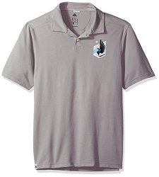 SLD Of The Adidas Group Adidas Mls Minnesota United Adult Men Worn S polo Large Grey