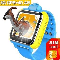 3G Gps Tracker Kids Smart Watch Turnmeon Wristwatch With Sim Sos Wifi Android Wear Camera Touch Smar