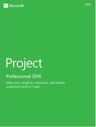 Microsoft Project Professional 2016 for PC