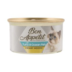 Bon App Tit Creamy Mousse Tuna & Ocean Fish Cat Food 85G