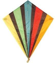 Allwin Kites - Diamond Kite Single Line Multi-colour 82x88cm