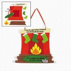 """OTC 12 """"t'was The Night Before Christmas"""" Sign Craft Kits"""