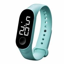 Amoustore Digital LED Watches Sport Digital Touch Screen Waterproof Watch For Kids B