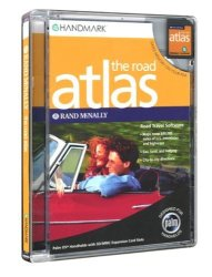 Handmark Rand Mcnally Road Atlas M125 M130 M500 M505 M515 I705 Tungsten T Handspring Treo 90